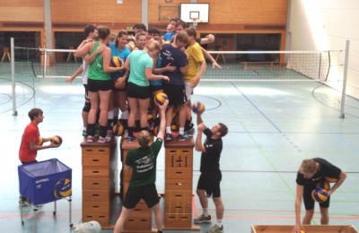 Gemeinsames Trainingslager Volleyballdamen und Volleyballherren SV 1845 Esslingen